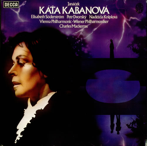 Leoš Janácek Kata Kabanova 2-LP vinyl record set (Double Album) UK JKA2LKA533803