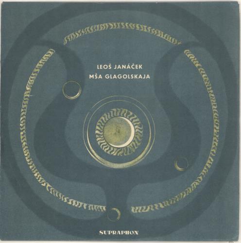 Leoš Janácek Mša Glagolskaja vinyl LP album (LP record) Czech JKALPMA721097