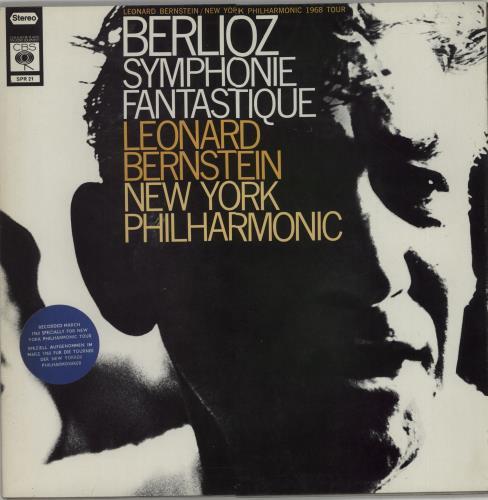 Leonard Bernstein Berlioz: Symphonie Fantastique vinyl LP album (LP record) UK 5LBLPBE526828