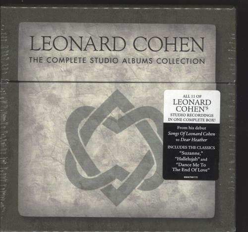 Leonard Cohen The Complete Studio Albums Collection - Sealed CD Album Box Set UK COHDXTH662701