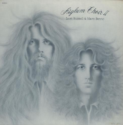 Leon Russell Asylum Choir II vinyl LP album (LP record) US LRULPAS757119