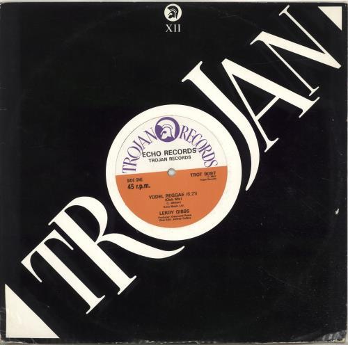 Leroy Gibbs Yodel Reggae UK 12