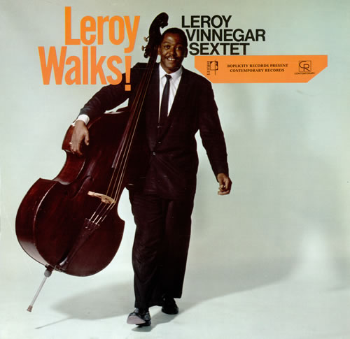 Leroy Vinnegar Leroy Walks! vinyl LP album (LP record) UK LJ5LPLE472849