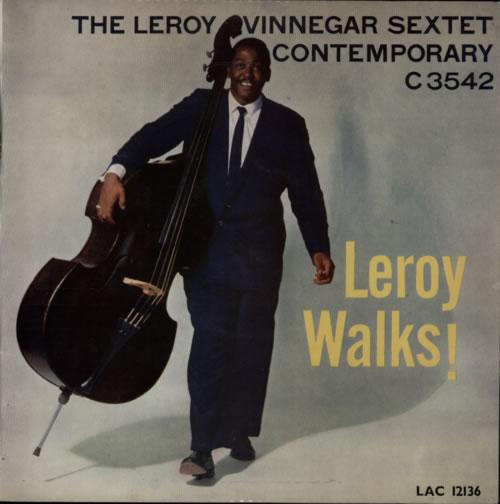 Leroy Vinnegar Leroy Walks! vinyl LP album (LP record) UK LJ5LPLE587970