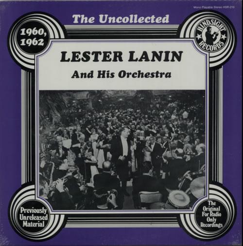 Lester Lanin The Uncollected - 1960-62 vinyl LP album (LP record) US LL4LPTH618565