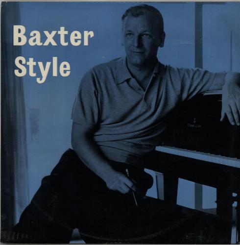 Les Baxter Baxter Style vinyl LP album (LP record) UK 3LBLPBA643178