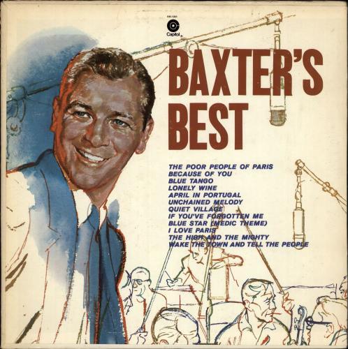 Les Baxter Baxter's Best vinyl LP album (LP record) US 3LBLPBA641808