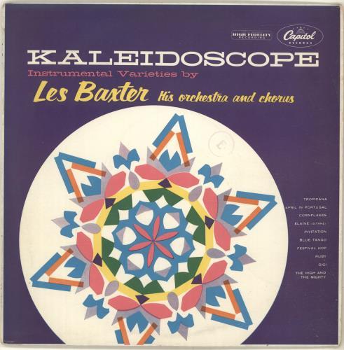 """Les Baxter Kaleidoscope 10"""" vinyl single (10"""" record) UK 3LB10KA699413"""
