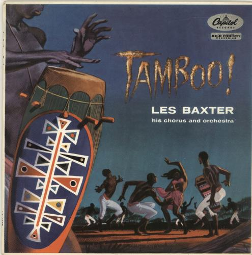 "Les Baxter Tamboo! 10"" vinyl single (10"" record) UK 3LB10TA699415"