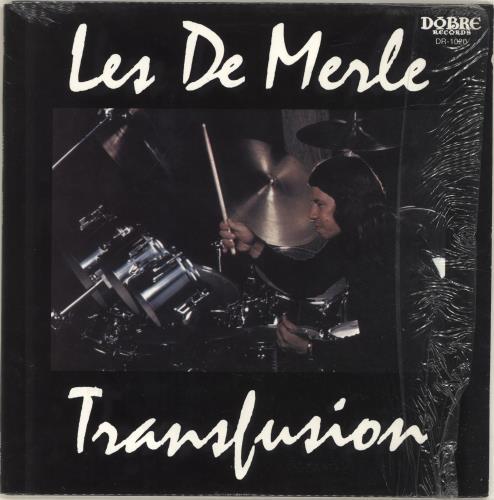 Les DeMerle Transfusion vinyl LP album (LP record) US QK5LPTR697772