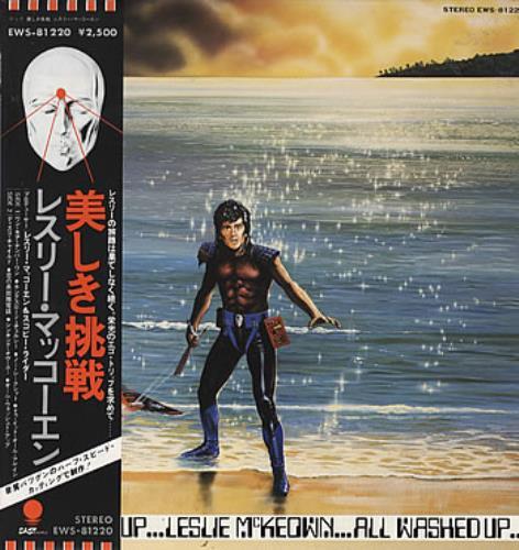 Les McKeown All Washed Up vinyl LP album (LP record) Japanese LSKLPAL231796