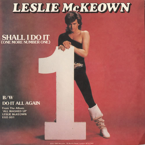 """Les McKeown Shall I Do It (One More Number One) 7"""" vinyl single (7 inch record) UK LSK07SH558642"""