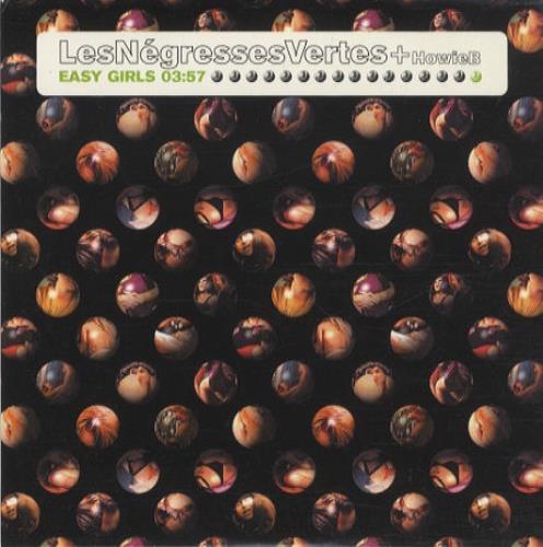 """Les Negresses Vertes Easy Girls CD single (CD5 / 5"""") UK LNVC5EA185280"""