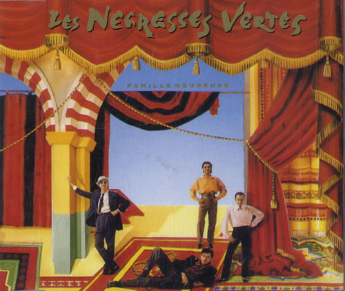 "Les Negresses Vertes Famille Heureuse CD single (CD5 / 5"") French LNVC5FA597073"