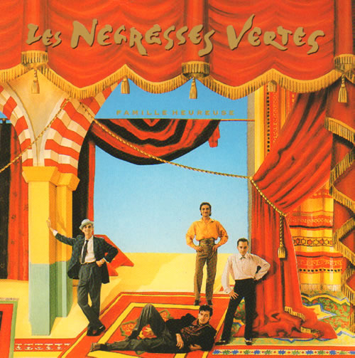 "Les Negresses Vertes Famille Heureuse 7"" vinyl single (7 inch record) UK LNV07FA638977"