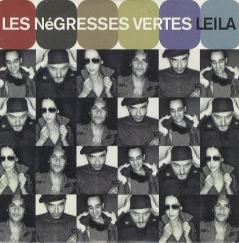 "Les Negresses Vertes Leila CD single (CD5 / 5"") UK LNVC5LE195988"