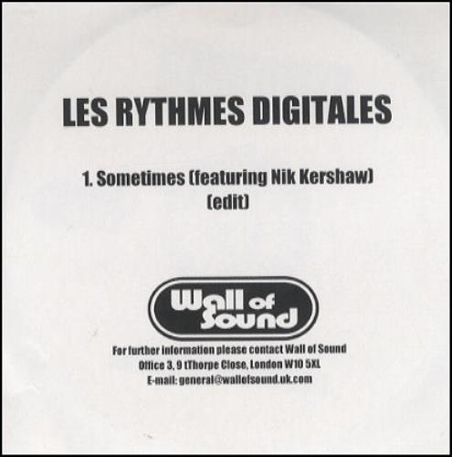 Les rythmes digitales sometimes