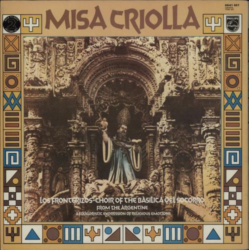 Les Troubadours Du Roi Baudouin Missa Luba / Misa Criolla 2-LP vinyl record set (Double Album) UK LTD2LMI756360