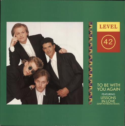 "Level 42 To Be With You Again 12"" vinyl single (12 inch record / Maxi-single) UK L4212TO39792"