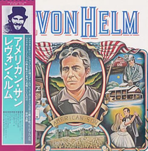 Levon Helm American Son vinyl LP album (LP record) Japanese VHELPAM209526