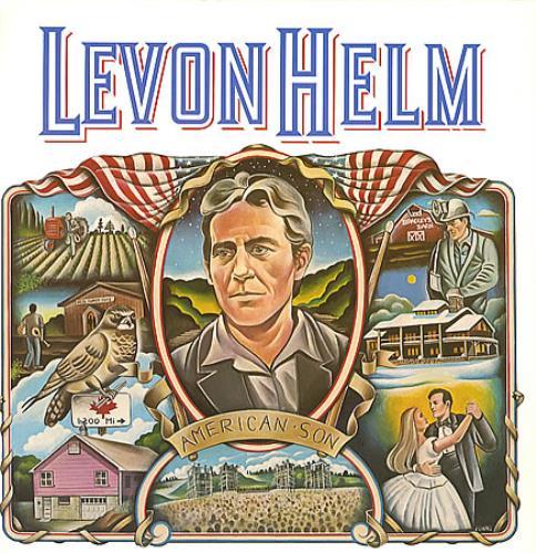 Levon Helm American Son vinyl LP album (LP record) US VHELPAM348962