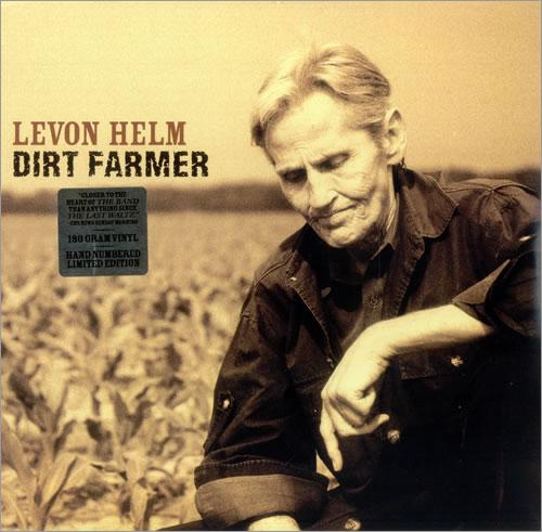 Levon Helm Dirt Farmer vinyl LP album (LP record) US VHELPDI452578