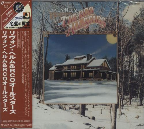 Levon Helm Levon Helm & The RCO All-Stars - Sealed CD album (CDLP) Japanese VHECDLE672948