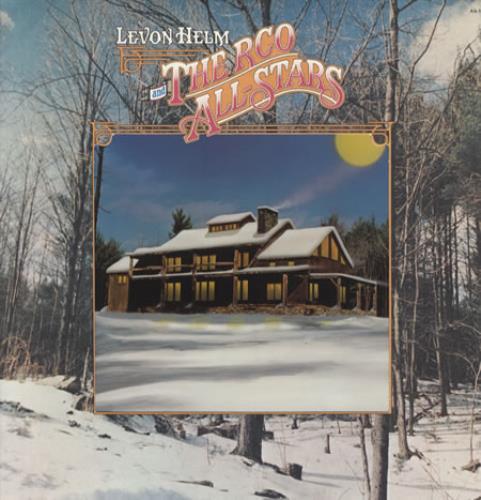 Levon Helm Levon Helm And The RCO All-Stars vinyl LP album (LP record) US VHELPLE341585