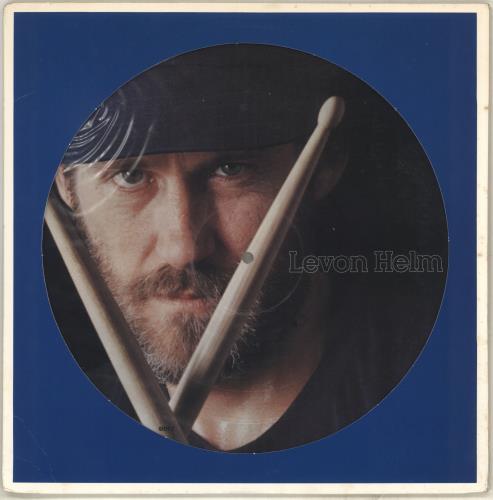 Levon Helm Levon Helm picture disc LP (vinyl picture disc album) US VHEPDLE714328