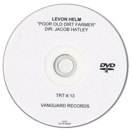 Levon Helm Poor Old Dirt Farmer CD-R acetate US VHECRPO442191
