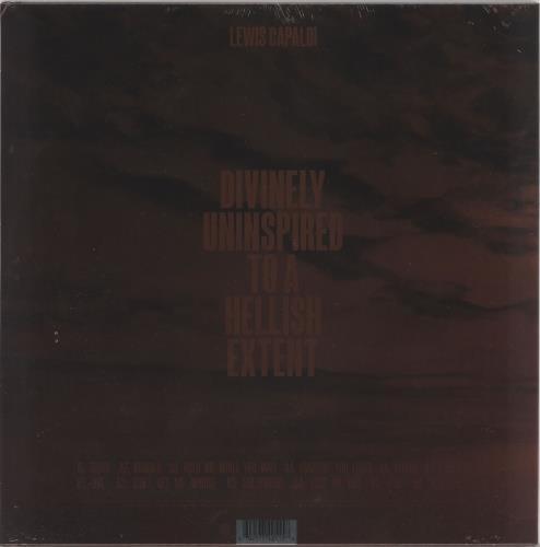 Lewis Capaldi Divinely Uninspired To A Hellish Extent - Red Vinyl - Sealed vinyl LP album (LP record) UK ZY4LPDI721584