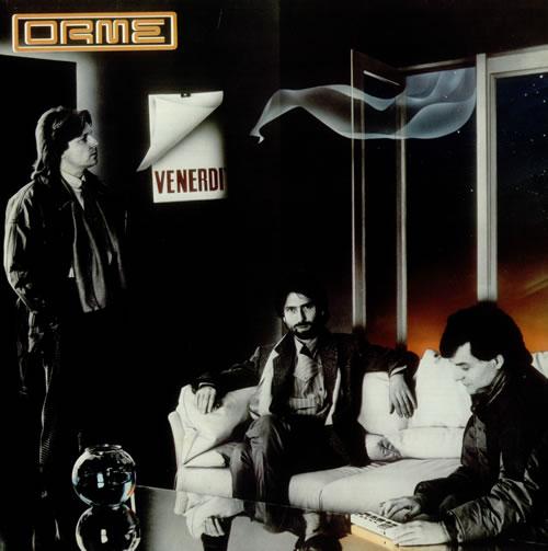 Le Orme Venerdi vinyl LP album (LP record) Italian L0ALPVE540295