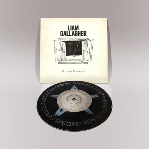 """Liam Gallagher All You're Dreaming Of - Sealed 7"""" vinyl single (7 inch record) UK LGL07AL758978"""