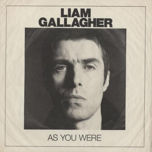 Liam Gallagher As You Were - 180gm vinyl LP album (LP record) UK LGLLPAS755011