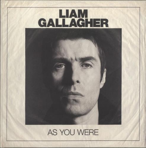 Liam Gallagher As You Were - Deluxe Edition vinyl LP album (LP record) UK LGLLPAS694592