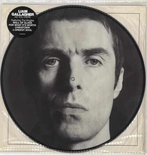 Liam Gallagher As You Were picture disc LP (vinyl picture disc album) UK LGLPDAS704229