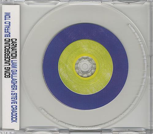 """Liam Gallagher Carnation CD single (CD5 / 5"""") UK LGLC5CA145477"""