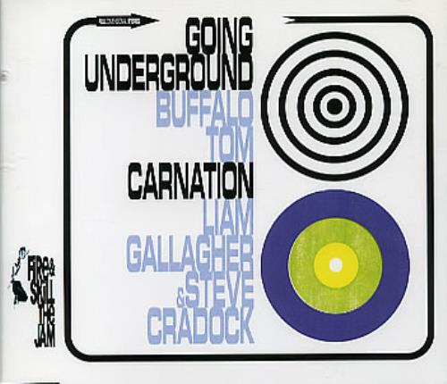 "Liam Gallagher Carnation CD single (CD5 / 5"") UK LGLC5CA247397"