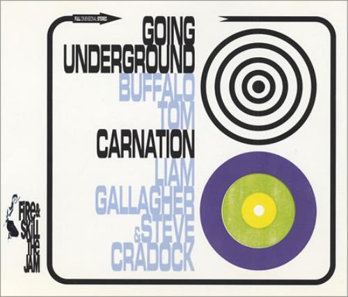 """Liam Gallagher Carnation CD single (CD5 / 5"""") UK LGLC5CA277437"""