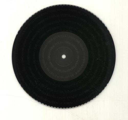 "Liam Gallagher I've All I Need - Etched Vinyl 7"" vinyl single (7 inch record) UK LGL07IV697159"