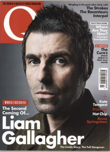 Liam Gallagher Q Magazine - Summer 2019 magazine UK LGLMAQM736322