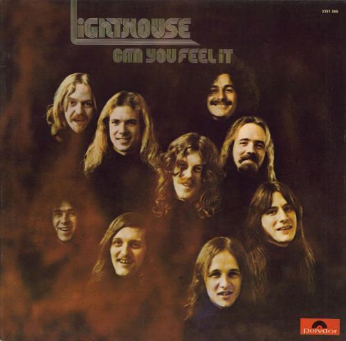 Lighthouse Can You Feel It vinyl LP album (LP record) German LGTLPCA587959