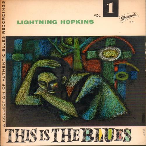 "Lightnin' Hopkins This Is The Blues! Vol. 1 EP 7"" vinyl single (7 inch record) German LHH07TH645350"