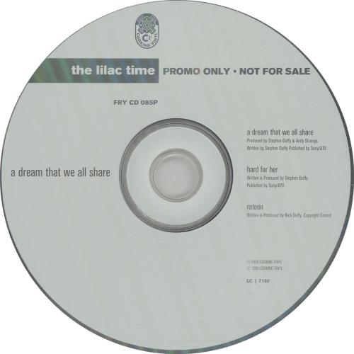 "Lilac Time A Dream That We All Share CD single (CD5 / 5"") UK LILC5AD137574"