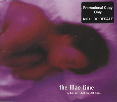 """Lilac Time A Dream That We All Share CD single (CD5 / 5"""") UK LILC5AD163077"""