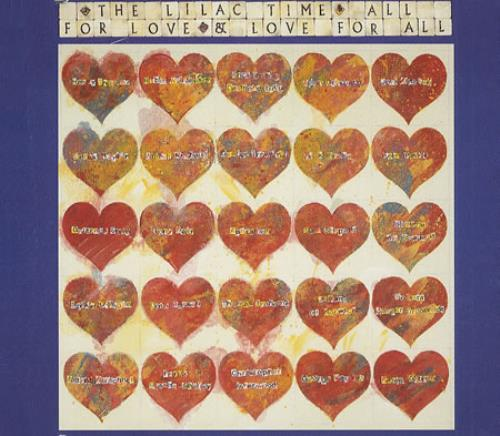 """Lilac Time All For Love And Love For You CD single (CD5 / 5"""") UK LILC5AL70851"""