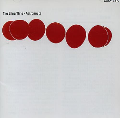 Lilac Time Astronauts CD album (CDLP) Japanese LILCDAS309734