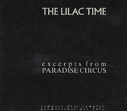 "Lilac Time Excerpts From Paradise Circus CD single (CD5 / 5"") UK LILC5EX50736"