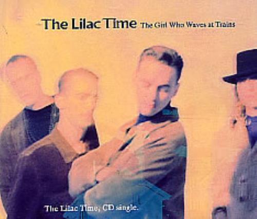 """Lilac Time The Girl Who Waves At Trains CD single (CD5 / 5"""") UK LILC5TH82272"""