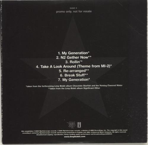 limp bizkit chocolate starfish album download